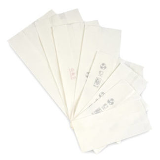 Χαρτοσακουλάκια Λευκά Ατύπωτα