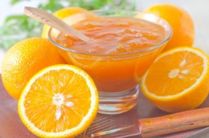 Μαρμελάδα Πορτοκάλι Ψηνόμενη