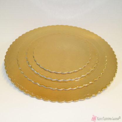 Diskoi 1 Χάρτινοι Δίσκοι Χρυσοί, Στρογγυλοί Νο. 25