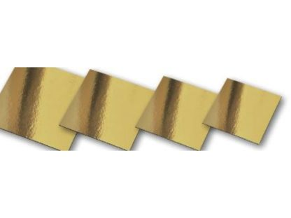 Tatragonoi Χάρτινοι Δίσκοι Χρυσοί 30*30