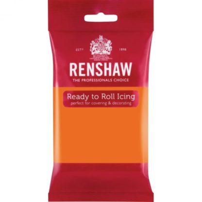 Ζαχαρόπαστα Renshaw Πορτοκαλί 250Γρ