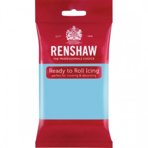 Ζαχαρόπαστα Renshaw Γαλάζιο 250γρ