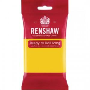 Ζαχαρόπαστα Renshaw Κίτρινη 250γρ