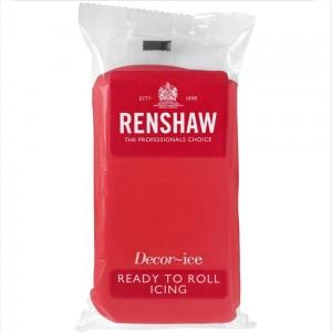 Ζαχαρόπαστα Renshaw Κόκκινη 500γρ