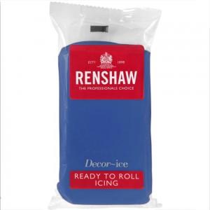 Ζαχαρόπαστα Renshaw Μπλε 500γρ