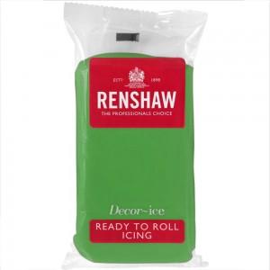 Ζαχαρόπαστα Renshaw Πράσινη 500γρ