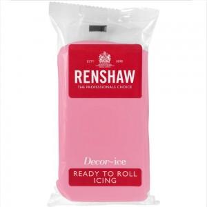 Ζαχαρόπαστα Renshaw Ροζ 500γρ