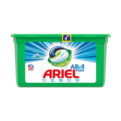 Ariel Καψουλεσ 40Τμχ 3 Σε 1 Regular